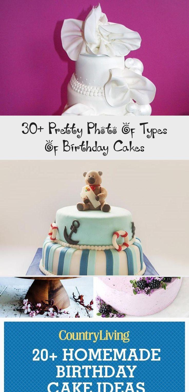 30+ Pretty Photo Of Types Of Birthday Cakes Types of