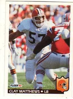 clay matthews browns football cards | Clay Matthews Jr.