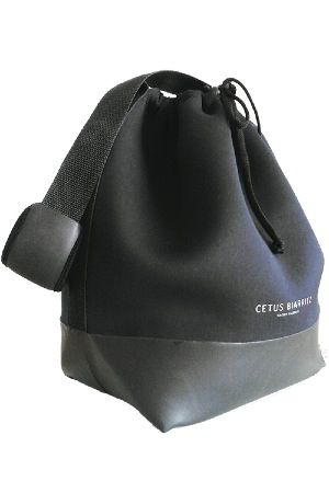 CETUS BIARRITZ PORT VIEUX  Black Yamamoto limestone neoprene / bag / black / beach / street