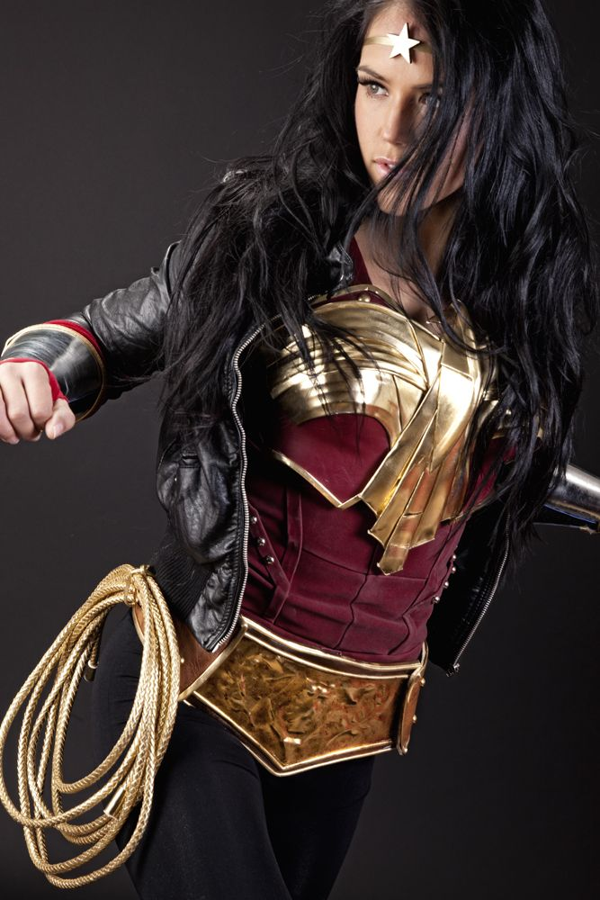 Wonder Woman - 'Best of' Cosplay Collection - News - GeekTyrant I like this because its not insanely illogical wear for a female