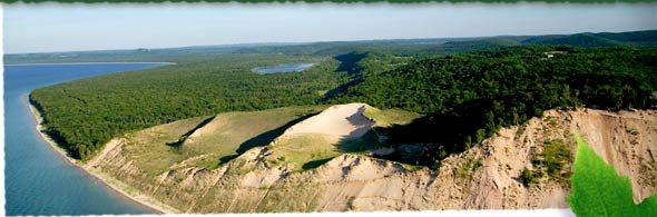 Good Morning America viewers selected Sleeping Bear Dunes as America's Most Beautiful Place.