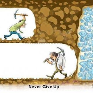 """So let us not give up in doing what is fine, for in due time we will reap if we do not tire out."""" - (Galatians 6:9)"""