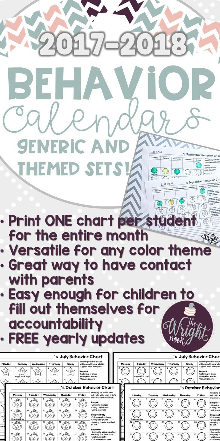 If you are tired of filling out daily charts to send home to parents, then this is perfect for you. No matter your behavior plan, these will be a perfect fit. Now with themed, generic, and EDITABLE sets the possibilities are endless!