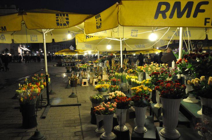 Krakow - Marché aux fleurs