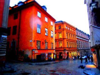 Matkojeni blogi: Tukholman linna (Stockholms slott) tai kuninkaanlinna (Kungliga slotte).