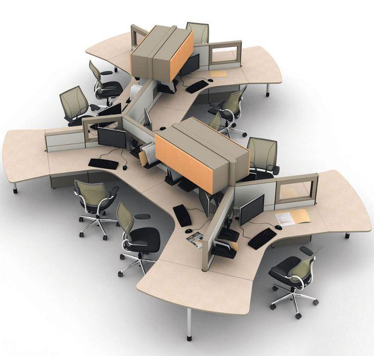 M s de 25 ideas incre bles sobre estaciones de trabajo en for Muebles de oficina iman