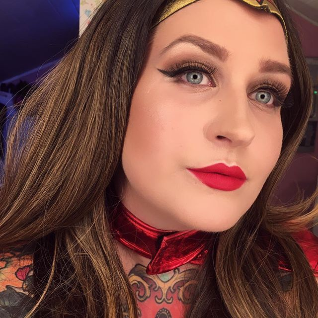 wonder woman makeup look