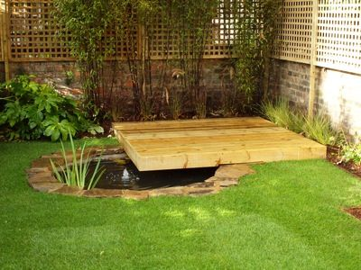 1000 images about deck pond on pinterest gardens lowes for Garden decking with pond