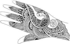 Beautiful Mehndi Design of hand