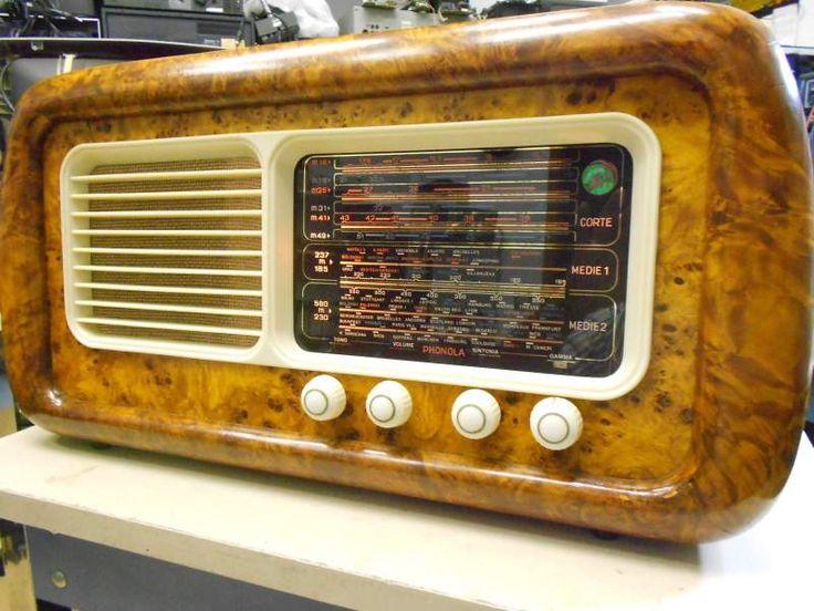 Radio d'epoca italiana phonola 5511 del 1949... a Campobasso - Kijiji: Annunci di eBay