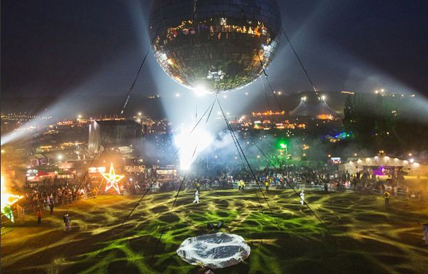 World's Largest Disco Ball at Bestival