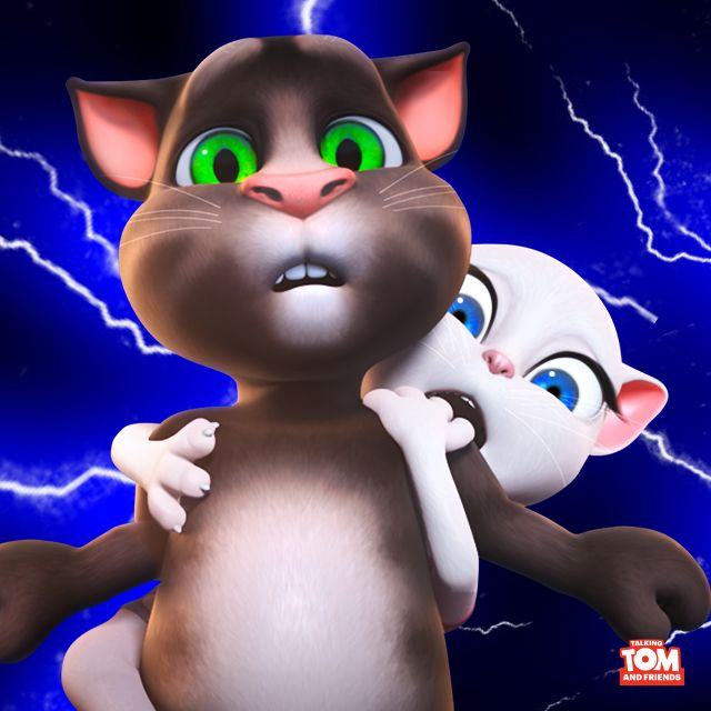 OMG! Just saw the biggest spider. Had to call #TalkingTom! Turns out he's afraid too… #FriendsMakeYouStronger #DefeattheSpider xoxo, Talking Angela#TalkingAngela #MyTalkingAngela #LittleKitties #strengthinnumbers #friends #TalkingTom #MyTalkingTom #TalkingFriends