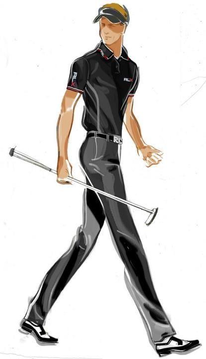 Prêt-à-Random: Ralph Lauren Sketches for Luke Donald US Open Championship