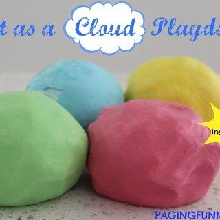 A new idea for playdough that I haven't seen before!