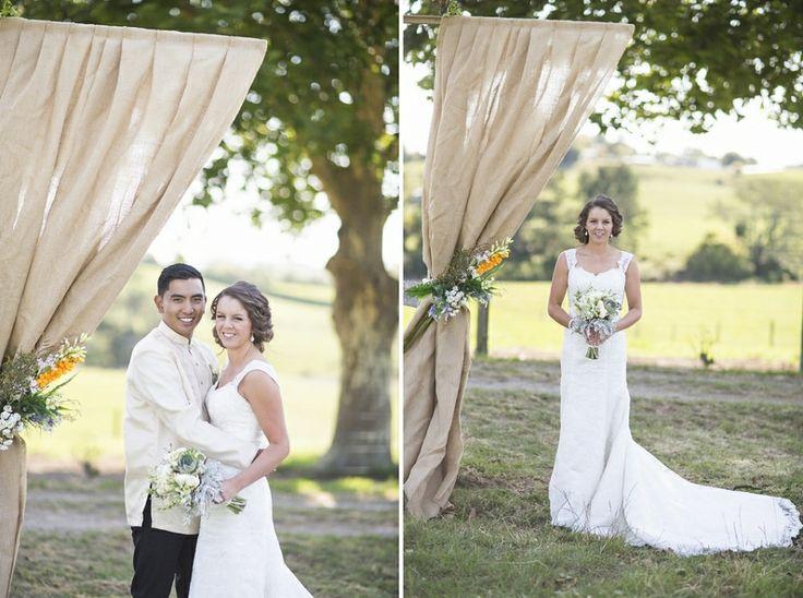 rustic farm wedding, backyard wedding, DIY wedding, Rustic, Vintage, Catholic wedding, outdoor wedding, anna allport photography, Auckland w...