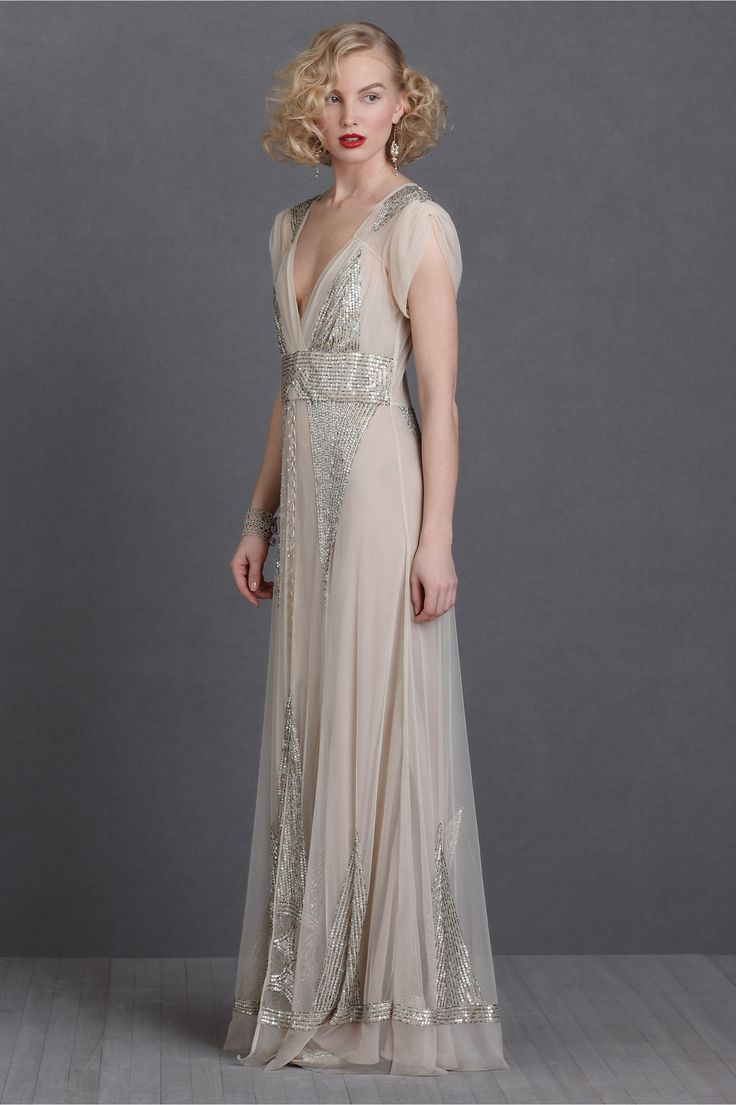 Best 25 art deco bridesmaids gowns ideas on pinterest art deco anna sui aiguille gown i dont want to be married i vintage wedding dressesart deco ombrellifo Images
