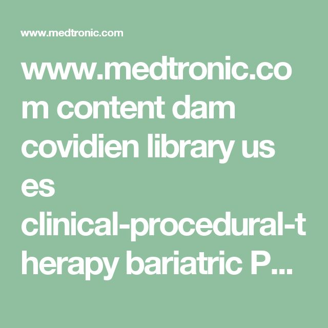 www.medtronic.com content dam covidien library us es clinical-procedural-therapy bariatric P140048-Bariatric-Patient-Spanish-Brochure.pdf