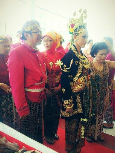 Java wedding's