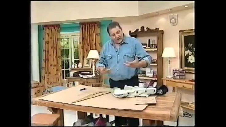 Puntos y Puntadas 33. Parte 1. Cómo hacer el molde de una prenda hecha. ...