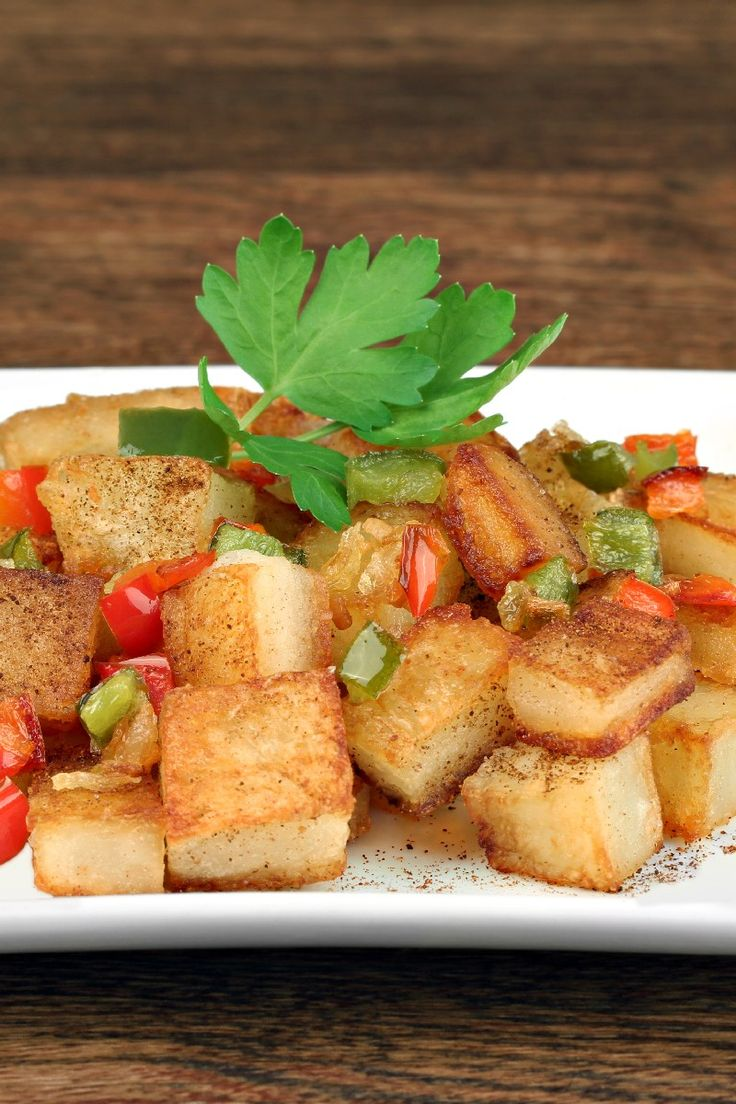Quick and Easy Home Fries Recipe | side dishes | Pinterest