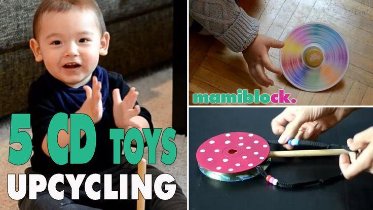 5 Spielzeuge aus alten CDs   Upcycling   DIY   Toys   mamiblock - Der Ma...