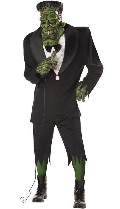 Get the party started this Halloween as Big Frank! This is a cool twist on the classic Frankenstein costume. Order yours today at http://www.heavencostumes.com.au/big-frank-men-s-halloween-costume.html