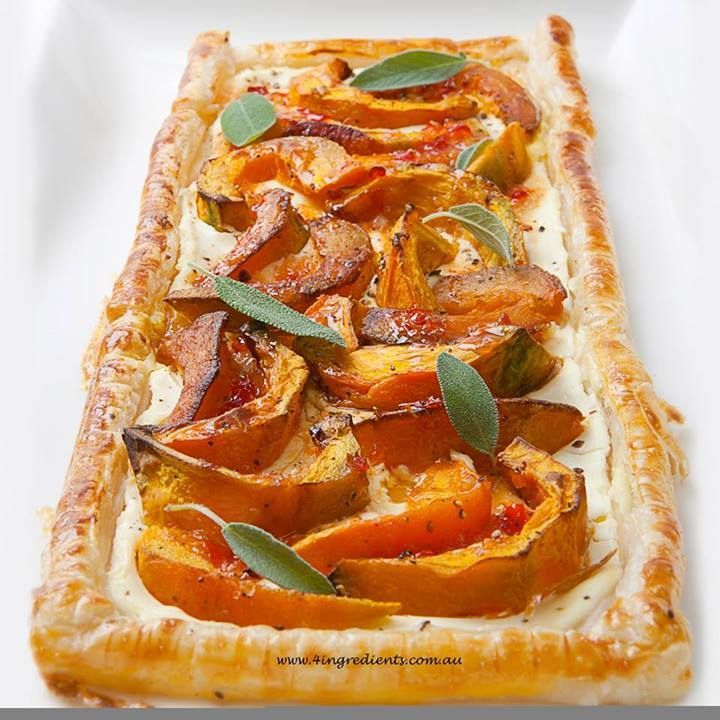 pumpkin tarts roast pumpkin sweet chili chili sauce yummy yummy food ...