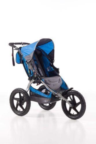 BOB Sport Utility Single Stroller, Blue - List price: $379.00 Price: $278.98 Saving: $100.02 (26%)