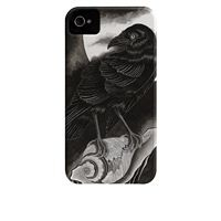 iPhone 4 / 4S Barely There Case Thomas Hooper The Raven iPhone case, BlackBerry case, iPod Touch case