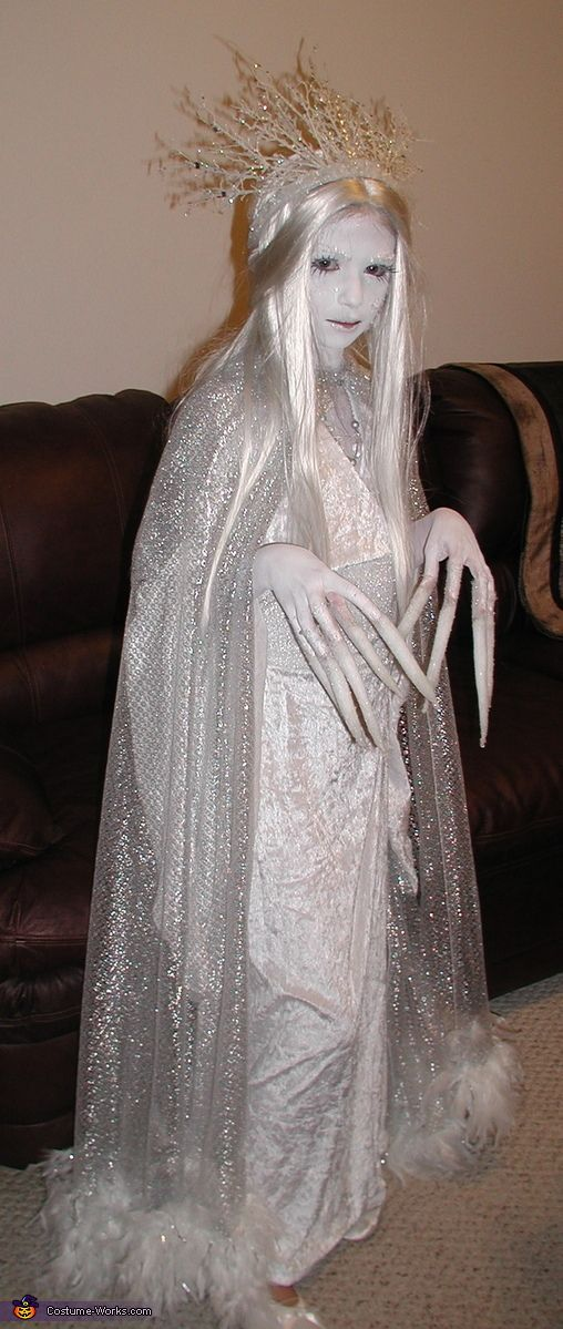Ice Queen Costume; Halloween