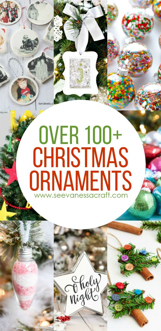Christmas: 100+ Handmade Ornament Ideas | !! Top Bloggers To Follow ...