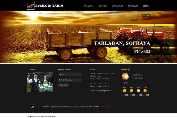 ByBilgin Agricultural Co. Webdesign