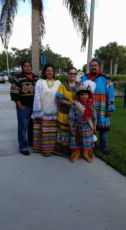 At Indian River State College(Everett Osceola Left).