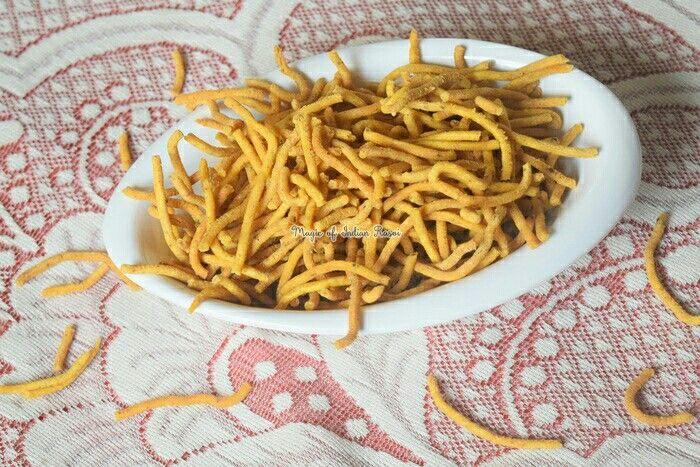 Gujarati Ghatiya / Sev Recipe - गुजराती गांठिया / सेव रेसिपी⠀ ⠀ Watch video: https://youtu.be/kqfrdIATiXQ⠀ ⠀ Recipe: https://goo.gl/BBbZMk⠀ ⠀ #Ganthiya #Sev #SpicySev #Snack #Diwali #EasyRecipe #Gujarati #Indian #recipe #yummy #nomnom #IndianFoodBlogger #IndianFoodChannel #MagicofIndianRasoi #MOIR
