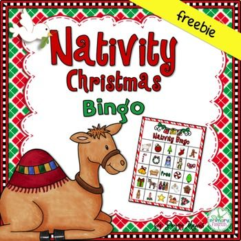 Are you looking for a fun game for your Christian Classroom or Sunday School class?  This sweet Nativity Bingo is sure to spark precious discussions and appreciation for Gods Greatest Gift! 24 Nativity Christmas Bingo cards (5x7)  Calling cards.Pinterest board made just for you with lots more party and game ideas:  Nativity Christmas Literature CentersNativity Christmas Crowns and Readers TheaterNativity Christmas Little Riddle BookNativity Write the…