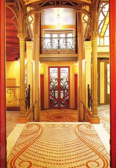 Victor horta tassel house interior