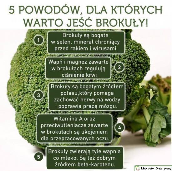 Brokuły - przebój jesiennej diety