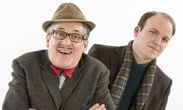 Count Arthur Strong. Watched the whole First season in two days. It is so hilarious and unexpectedly touching.