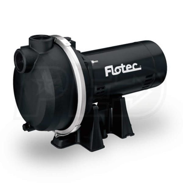 Flotec FP5182 - 69 GPM 2 HP Self-Priming Thermoplastic Sprinkler Pump