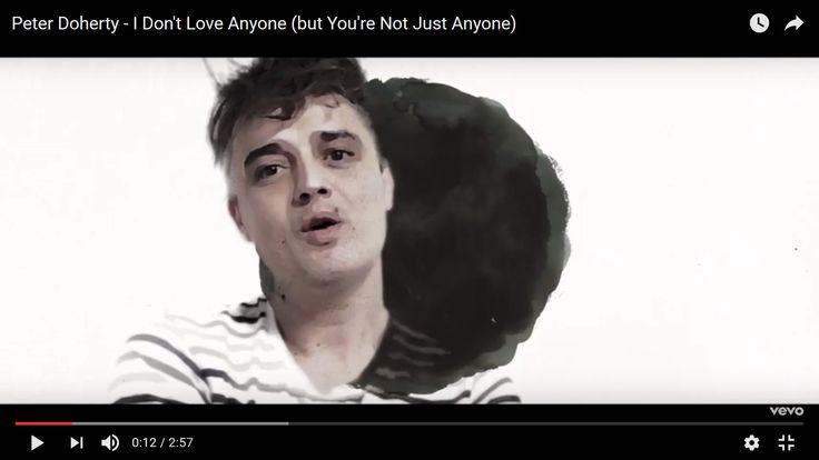 Пит Доэрти выпустил клип на песню I Don't Love Anyone (But You're Not Just Anyone) - http://rockcult.ru/pete-doherty-video-i-dont-love-anyone-but-youre-not-just-anyone