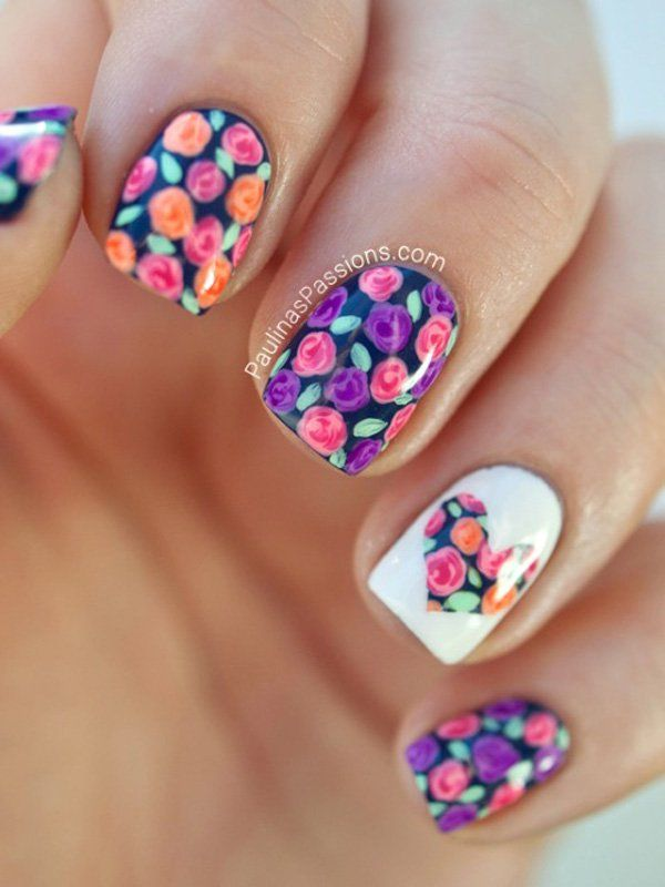 The 25 best heart nail designs ideas on pinterest heart nail the 25 best heart nail designs ideas on pinterest heart nail art heart nails and black heart prinsesfo Gallery