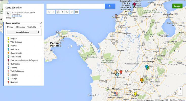 visiter la colombie itinéraire