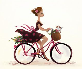 Adorable illustration #Bike / Illustrazione adorabile #Bici