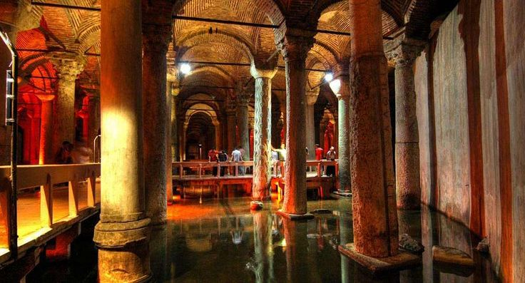Kusadasi Info   Yerebatan Sarayi, Cisterna Basilica
