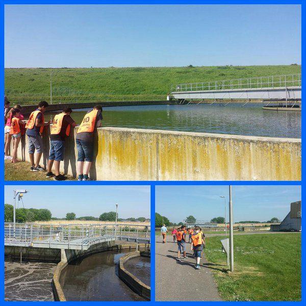 Groep7b Nienekes   Dus zo wordt ons rioolwater gezuiverd.