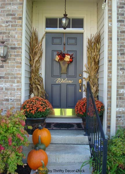 100 fall decorations for outside the home best 25 fall livi