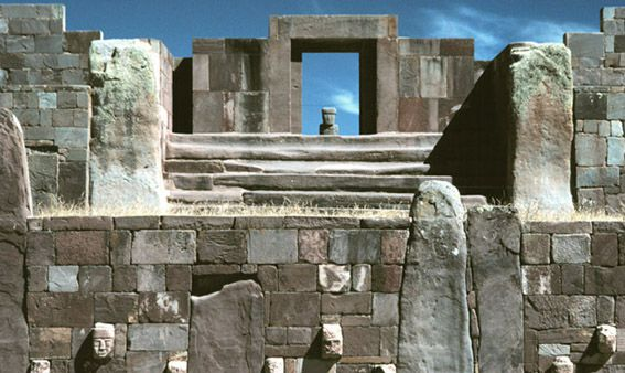 Puma Punku...  Google Image Result for http://www.worldend.info/end-of-the-world/wp-content/uploads/2011/08/puma-punku.jpg