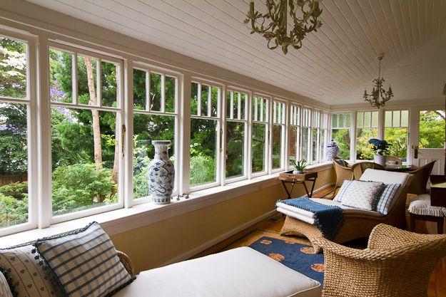 Jules Trudeau photography. Federation home (interior; sun room; enclosed verandah) in Sydney Australia (Appian Way, Burwood) #architecture #housing #houses #australia