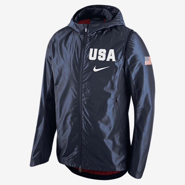 Authentic Men's Nike Navy USA Basketball Hyper Elite Jacket from the only  Official store of USA Basketball. Support USA Basketball in Rio 2016 and  get flat ...