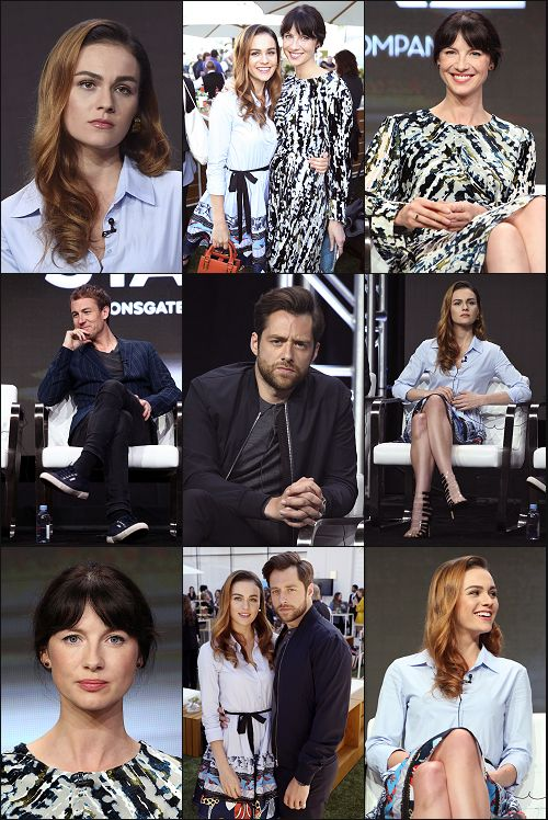 """ffaupdates: """" Site Update: Outlander Cast - 7/28/17 [98 HQ Tagless Photos] Please consider reblog to help spread awareness of our galleries. """""""